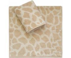 Handtücher, Dyckhoff, »Giraffe«, in Giraffelfell-Optik, natur, beige
