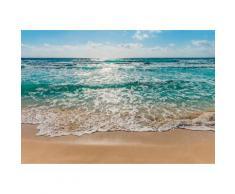 Komar Fototapete »Seaside«, 368/254 cm, bunt, blau/beige