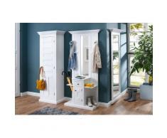 Premium collection by Home affaire Kompaktgarderobe »Nadja« Breite 88,5 cm, weiß, weiß