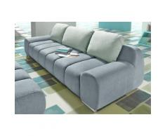 INOSIGN Big-Sofa, Samtstruktur
