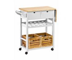 heine home Küchenwagen, weiß, Unisex, weiß
