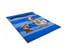 Kinder-Teppich, Asterix, »Die lustigen Gallier«, blau, blau