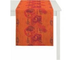Tischläufer, Apelt, »7910 Klassik«, orange, terra orange