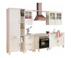 Küchenblock »Alby« Breite 325 cm, weiß, weiß-weiß