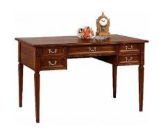 SELVA Schreibtisch »Villa Borghese« Modell 6371, braun, nussbaumfarbig antik