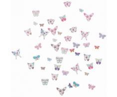 EUROGRAPHICS Deko-Sticker »Butterflies«, rosa, rosa