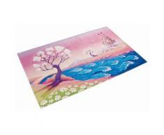 Kinderteppich, »Lovely Kids 405«, Böing Carpet, rechteckig, Höhe 6 mm, gedruckt, rosa, rosé