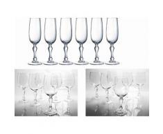 Luminarc Gläser-Set, »CHARMS« (18tlg.), transparent, Unisex, transparent