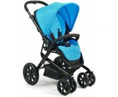 CHIC4BABY BABY Kinderwagen mit Doppelschwenkrädern, »Pronto«, blau, Kinder, blue