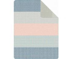 Wohndecke, s.Oliver, »Smooth«, mit breiten Streifen, blau, blau