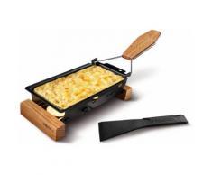 BOSKA Holland Käse-Raclette Eichenholz, »ToGo«, schwarz, Unisex, schwarz, Eichenholz, Antihaftbeschichtung