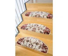 Stufenmatte, »Klassiko 2«, Living Line, stufenförmig, Höhe 13 mm, maschinell getuftet, natur, Unisex, beige