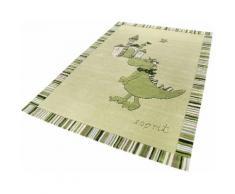 Kinder-Teppich, Esprit, »Dragon & Castle«, Höhe 10 mm, handgetuftet, grün, grün
