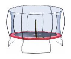 Hudora Trampolin 400cm, inkl. Netz, »Fantastic Trampolin 400V«, rot, Unisex, rot