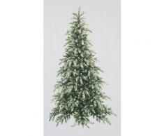 Vorhang, My Home, »Tannenbaum«, mit Stangendurchzug (1 Stück), weiß, weiß-grün