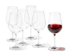 Weinglas, Leonardo, »Tivoli« (6er Set), transparent