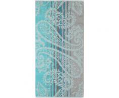 Handtücher, Cawö, »Noblesse Paisley«, mit Paisley-Design, blau, aquamarin