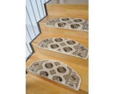 Stufenmatte, »Klassiko 1«, Living Line, stufenförmig, Höhe 13 mm, maschinell getuftet, natur, Unisex, beige
