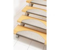 Stufenmatte, »Rambo«, Andiamo, stufenförmig, Höhe 4 mm, geklebt, natur, Unisex, beige
