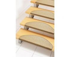 Stufenmatte, »Rambo«, Andiamo, stufenförmig, Höhe 4 mm, geklebt, gelb, Unisex, mais