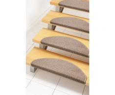 Stufenmatte, »Ben«, Andiamo, stufenförmig, Höhe 4,5 mm, maschinell gewebt, natur, Unisex, beige