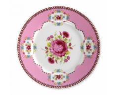 Speiseteller »Shabby Chic« (6er-Set), PiP Studio, rosa, pink