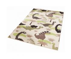 Kinder-Teppich, Zala Living, »Dinosaurier«, Höhe 9 mm, gewebt, grün, grün