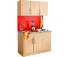 Küchenzeile, Held Möbel, »Toledo«, Breite 120 cm, natur, Buchefarben