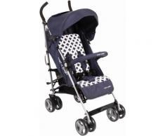 CHIC4BABY Buggy mit verstellbarer Rückenlehne, »Leni, navy blue«, blau, Unisex, navy blue
