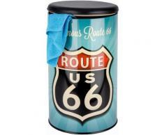Wenko Badhocker Vintage Route 66, bunt, Mehrfarbig