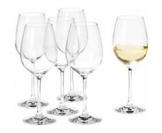 Set: Weißweinglas, Leonardo, »City Barcelona« (6-tlg.), transparent, klar