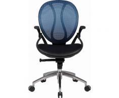 Amstyle Bürostuhl »SHAPE 1« Chefsessel »SHAPE 2«, blau, blau