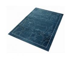 Kinderteppich, »Märchen 6«, grimmliis, rechteckig, Höhe 2 mm, maschinell gewebt, grün, grün