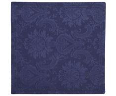 GUIDO MARIA KRETSCHMER HOME & LIVING Stoffservietten, mit Hohlsaum (2 Stück), »Jacquard Paisley«, blau, Unisex, dunkelblau