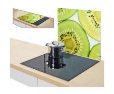 Zeller Present Herdblende-/Abdeckplatte »Kiwi«, 56 x 50 cm, grün, Unisex, grün