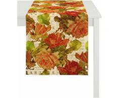 Tischläufer, Apelt, »3039«, Baumwolldruck, bunt, floral natur