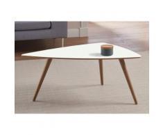 andas Design Couchtisch »stick« mit Massivholzgestell, braun, walnut Laminat