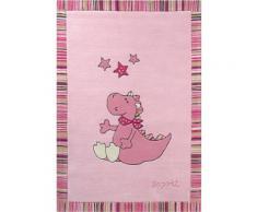 Kinder-Teppich, Esprit, »Sweet Dragon«, Höhe 10 mm, handgetuftet, rosa, pink