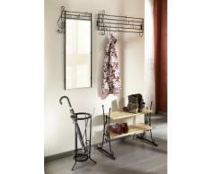Home affaire, Garderobe und Spiegel »Noten«(2er-Set), Unisex