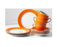 Kaffeeservice, Ritzenhoff & Breker (12tlg.), orange, Unisex, orange