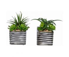 Home affaire Kunstpflanze »Sukkulenten«, grün