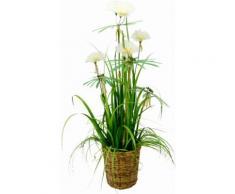 Home affaire Kunstpflanze »Papyrusgras« im Topf, weiß, weiß