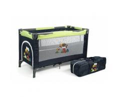CHIC4BABY Reisebett mit Transporttasche, »Luxus bumblebee«, grün, Unisex, bumblebee