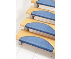 Stufenmatte, »Ben«, Andiamo, stufenförmig, Höhe 4,5 mm, maschinell gewebt, blau, Unisex, blau