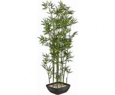 Home affaire Kunstpflanze »Bambus« im Terrakottatopf, grün, Unisex
