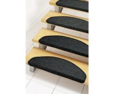 Stufenmatte, »Dortmund«, Dekowe, stufenförmig, Höhe 8 mm, maschinell gewebt, schwarz, Unisex, schwarz