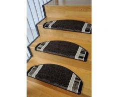 Stufenmatte, »Casco 2«, Living Line, stufenförmig, Höhe 8 mm, maschinell getuftet, braun, Unisex, braun