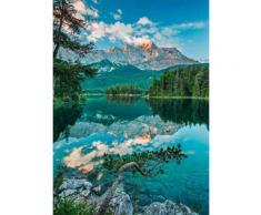 Komar Fototapete »Mirror Lake« 184/254 cm, bunt, bunt