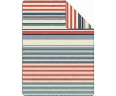 Wohndecke, s.Oliver, »Siren«, mit verschiedenen Streifen, rot, rot-multi