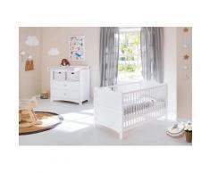 Pinolino Babyzimmer Set (2-tlg) Sparset »Florentina« breit, weiß, Unisex, weiß
